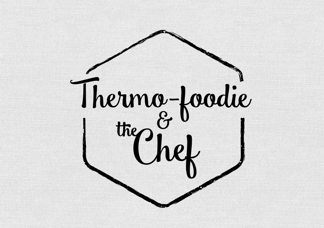Thermo Foodie and the chef logo lchf banting low carb high fat thermomix thermofoodies ketokids keto
